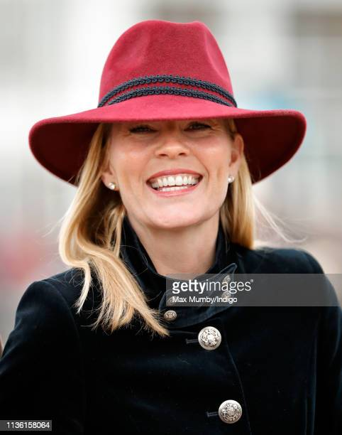 Autumn Phillips attends day 4 'Gold Cup Day' of the Cheltenham Festival at Cheltenham Racecourse on March 15, 2019 in Cheltenham, England.