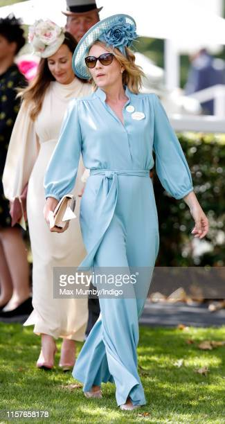 Autumn Phillips attends day five of Royal Ascot at Ascot Racecourse on June 22, 2019 in Ascot, England.