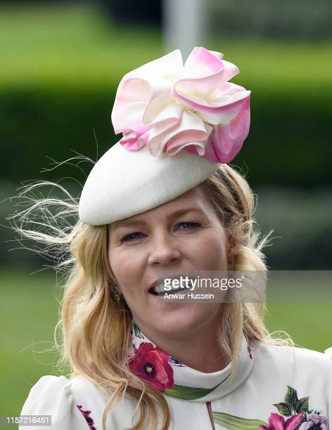 Autumn Phillips attends Ladies Day at Royal Ascot on June 20 2019 in Ascot England