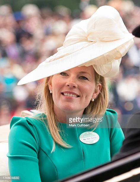 Autumn Phillips attends Ladies Day on Day 3 of Royal Ascot at Ascot Racecourse on June 20 2013 in Ascot England