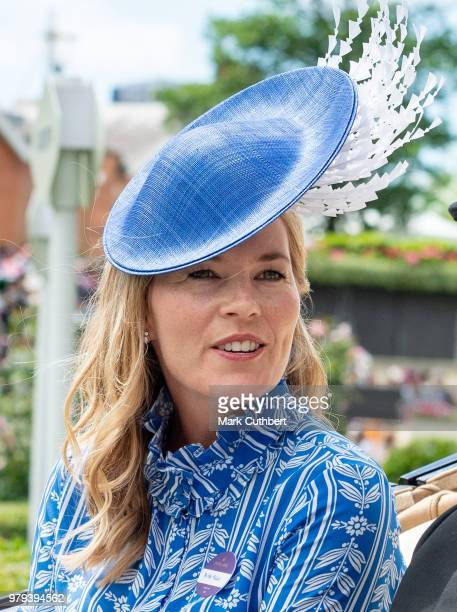 Autumn Phillips attends Royal Ascot Day 2 at Ascot Racecourse on June 20 2018 in Ascot United Kingdom