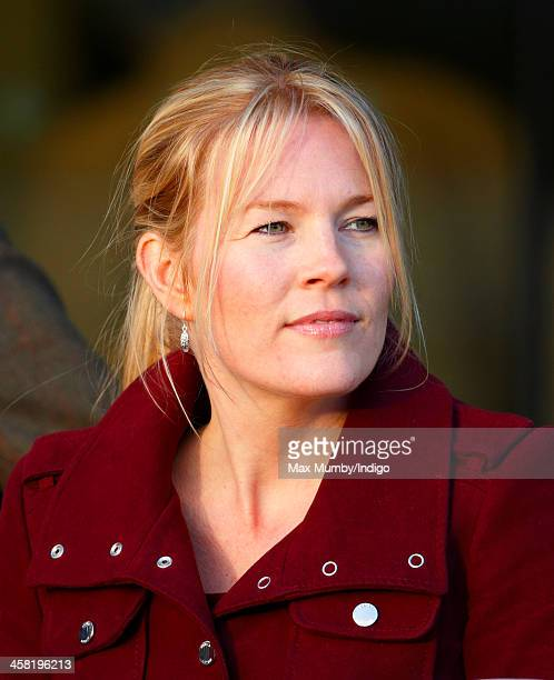 Autumn Phillips attends the Christmas Meeting at Ascot Racecourse on December 20 2013 in Ascot England