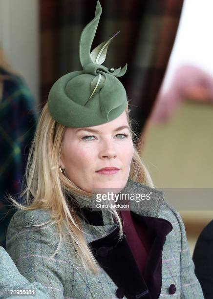 Autumn Phillips during the 2019 Braemar Highland Games at The Princess Royal and Duke of Fife Memorial Park on September 07 2019 in Braemar Scotland