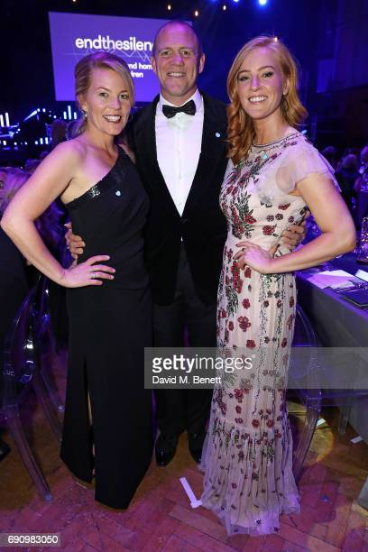 Autumn Phillips Mike Tindall and SarahJane Mee attend the 50th anniversary of The Beatles SGT Pepper Album at Abbey Road Studios for End The Silence...