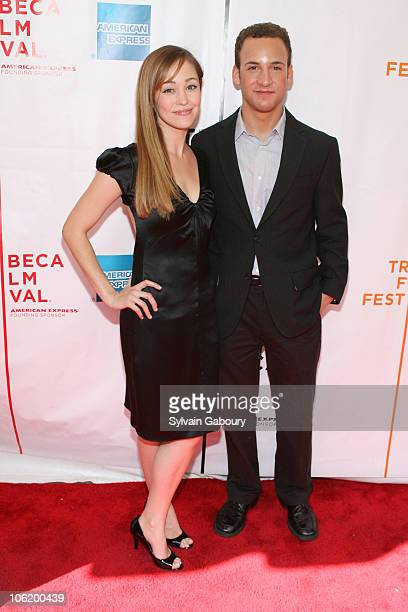 Autumn Reeser and Ben Savage during 6th Annual Tribeca Film Festival Premiere of Palo Alto Red Carpet at Clearview Chelsea West Cinemas at 333 West...