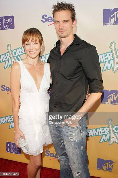 Autumn Reeser and Jesse Warren arrive to the premiere of The American Mall at the Cinerama Dome in Hollywood CA on July 28 2008 The American Mall...