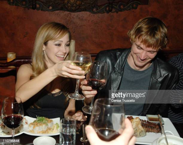 Autumn Reeser and Jesse Warren during Autumn Reeser at TAO Asian Bistro at The Venetian Hotel and Casino Resort January 06 2007 at TAO Asian Bistro...