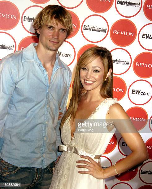 Autumn Reeser and Jesse Warren during Entertainment Weekly Magazine 4th Annual Pre-Emmy Party - Arrivals at Republic in Los Angeles, California,...