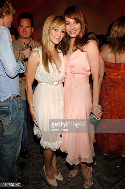 Autumn Reeser and Melinda Clarke during Entertainment Weekly Magazine 4th Annual PreEmmy Party Inside at Republic in Los Angeles California United...