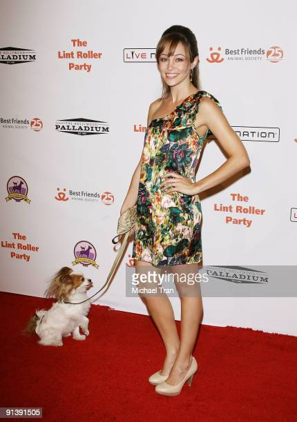 Autumn Reeser arrives to the Best Friends Animal Society's 2009 Lint Roller Party held at The Hollywood Palladium on October 3 2009 in Los Angeles...