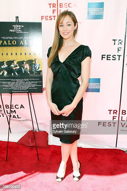 Autumn Reeser during 6th Annual Tribeca Film Festival Premiere of Palo Alto Red Carpet at Clearview Chelsea West Cinemas at 333 West 23rd Street in...