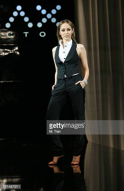 Autumn Reeser during Max Factor Salutes Hollywood Fashion Show at Social Hollywood in Los Angeles CA United States