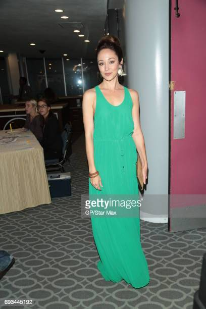 Autumn Reeser is seen on June 6 2017 in Los Angeles CA