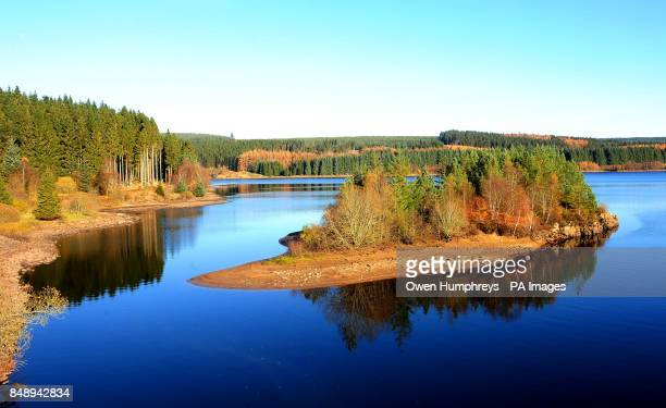 A autumn reflection at Kielder Water Forest Park Newcastle The park which covers 250 square miles is home to the biggest manmade lake in northern...