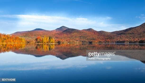 Autumn Reflection in  Vermont