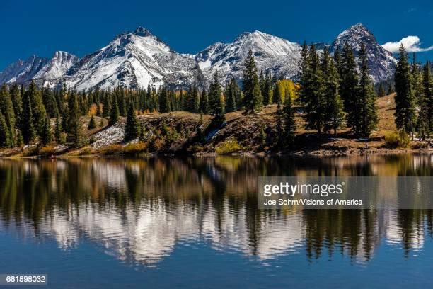 Autumn Reflection San Juan Mountains Colorado