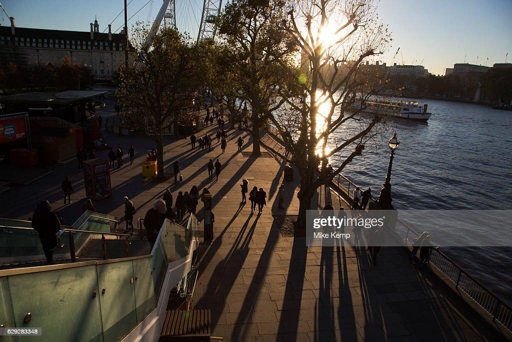 South Bank In London : Nachrichtenfoto
