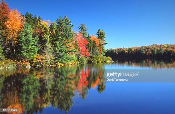 outono paisagem - massachusetts imagens e fotografias de stock