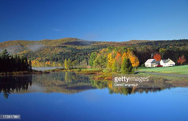 autumn scenic - vermont stock pictures, royalty-free photos & images