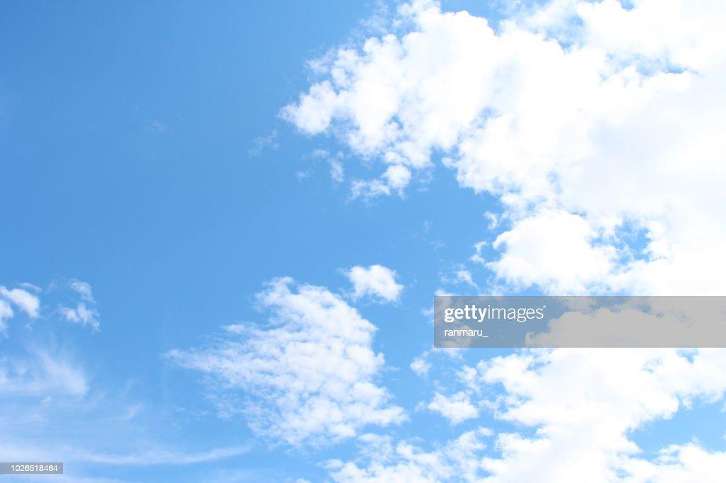 Autumn sky background : Stock Photo