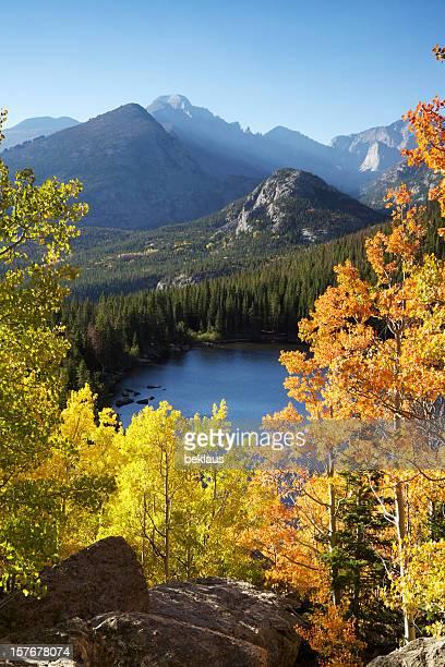 Autumn Sunrise Over Lake