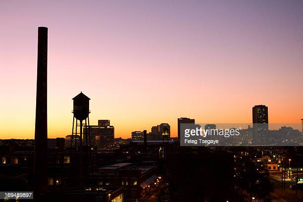 autumn sunset - richmond virginia stock pictures, royalty-free photos & images