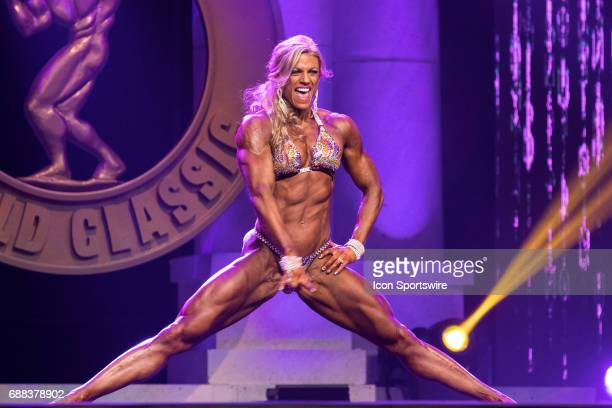 Autumn Swansen competes in Women's Physique International as part of the Arnold Sports Festival on March 3 at the Greater Columbus Convention Center...