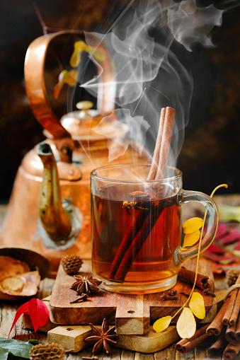 Autumn tea - gettyimageskorea