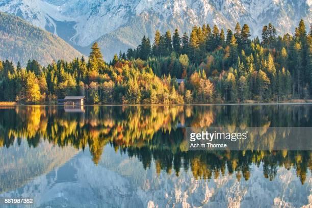 Autumn, Upper Bavaria, Germany, Europe