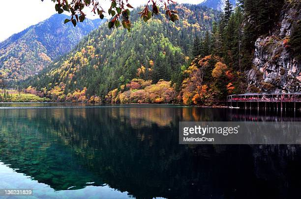 Autumn view of Panda Lake