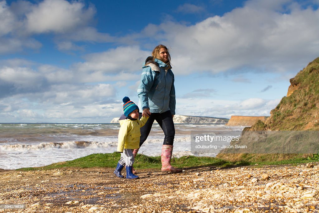 Autumn Walks in the West Wight : Stock Photo