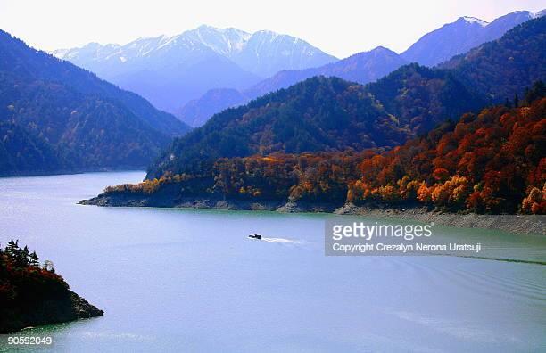 Autumnal Colours of Kurobe Dam
