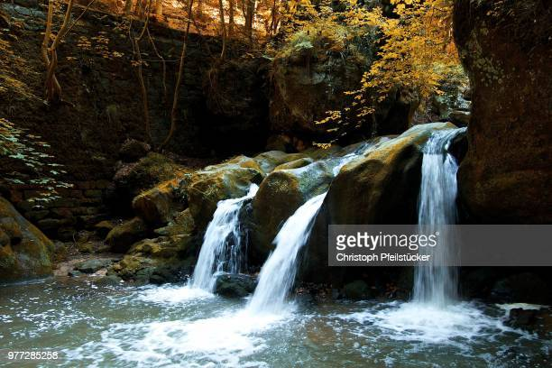 Autumnal Waterfall