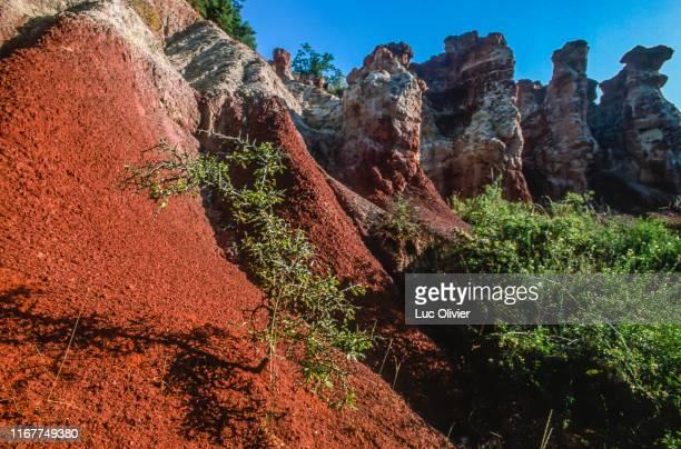 auvergne, puy-de-dome, la vallee des saints - auvergne rhône alpes stock pictures, royalty-free photos & images