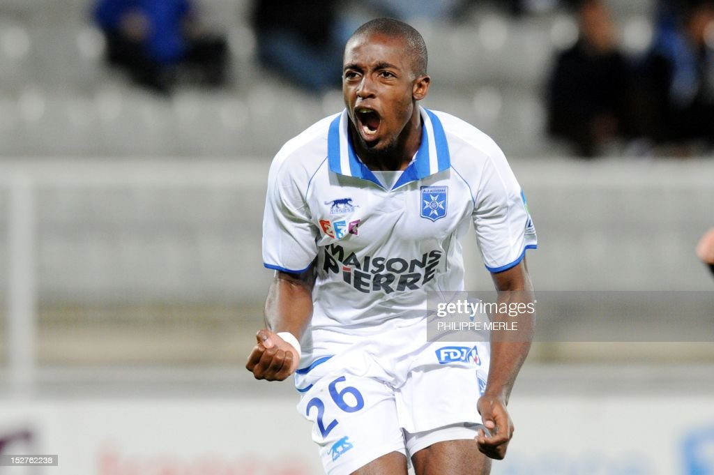 FBL-FRA-LCUP-AUXERRE-ANGERS : News Photo