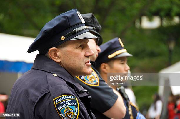 NYPD Auxiliary Police officers in Central Park, NYC