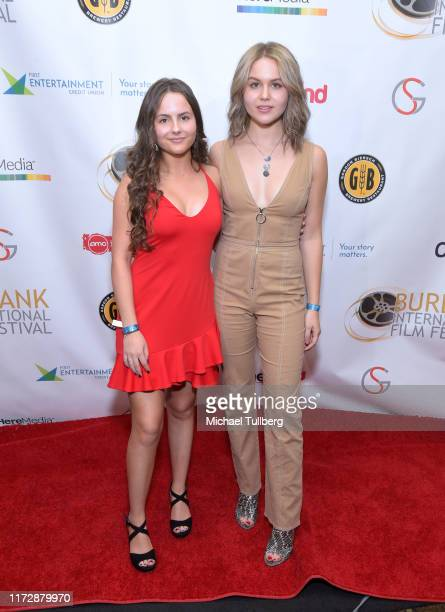 "Ava Acres and Isabella Acres attend the premiere of ""Relish"" at the Burbank International Film Festival at AMC Burbank 16 on September 06, 2019 in..."