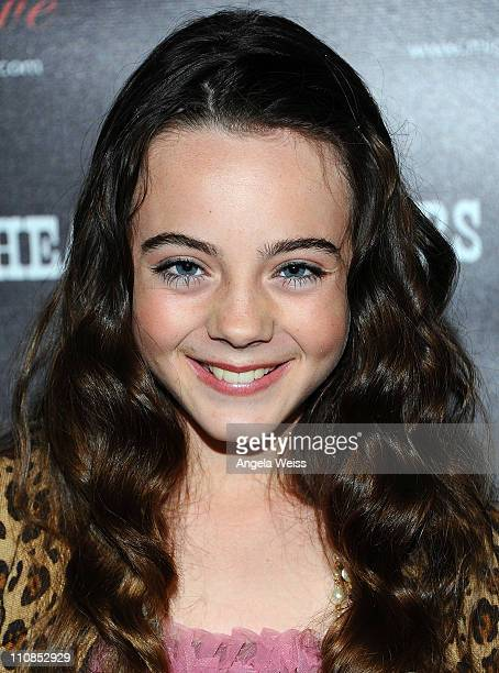 Ava Allan arrives at the world premiere of 'Head Over Spurs In Love' at Majestic Crest Theatre on March 24, 2011 in Los Angeles, California.
