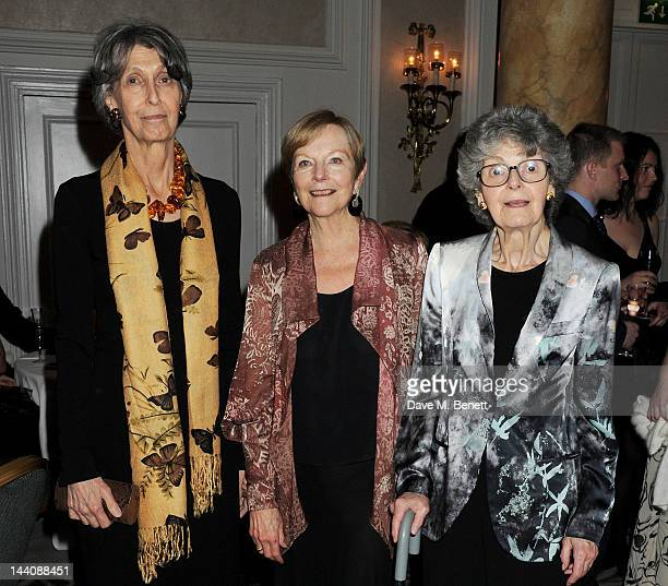 Ava Astaire McKenzie daughter of Fred Astaire and Irving Berlin's daughters Elizabeth Peters and Linda Emmet attend an after party celebrating the...