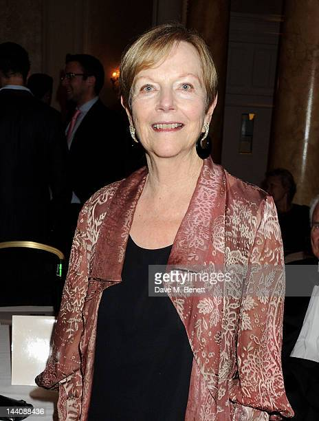 Ava Astaire McKenzie daughter of Fred Astaire attends an after party celebrating the press night performance of 'Top Hat' at The Waldorf Hilton Hotel...