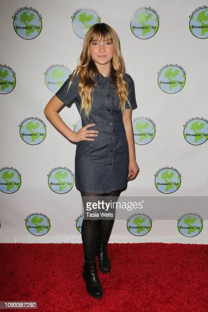 Ava August attends Tehran Von Ghasri and Isaak Presley host #Team1rhr Unity Event at Live House on January 12 2019 in Los Angeles California