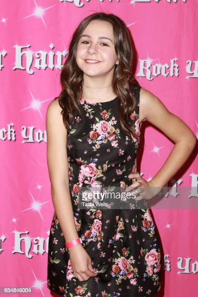 Ava Bianchi attends Rock Your Hair presents Valentine's Rocks at The Avalon Hotel on February 11 2017 in Los Angeles California