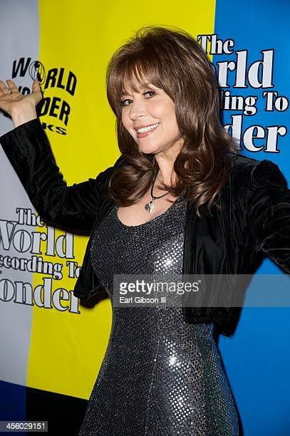 Ava Cadell attends the World Of Wonder's 1st Annual WOWie Awards And Holiday Party at The Globe Theatre on December 12 2013 in Universal City...