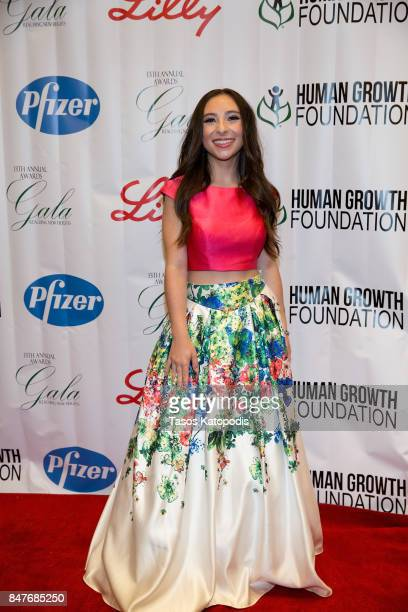 Ava Cantrell actress/dancer at National Press Club on September 15 2017 in Washington DC