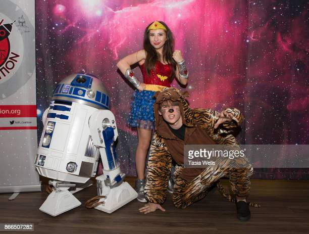 Ava Cantrell and CJ Valleroy at the Ronald McDonald House LA Annual Halloween Carnival at Ronald McDonald House on October 25 2017 in Los Angeles...