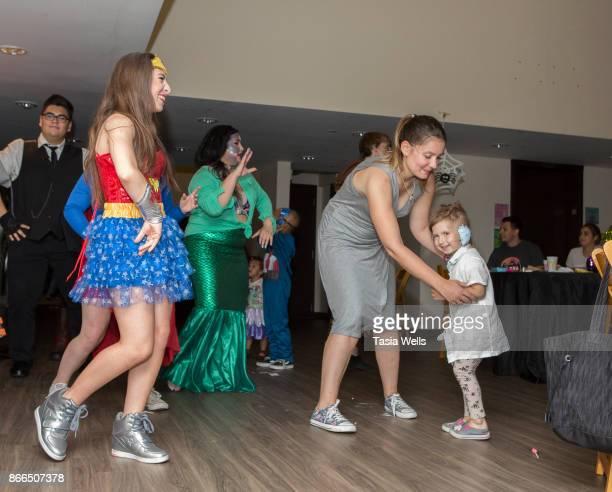 Ava Cantrell and Kiana Lyz Rivera at the Ronald McDonald House LA Annual Halloween Carnival at Ronald McDonald House on October 25 2017 in Los...