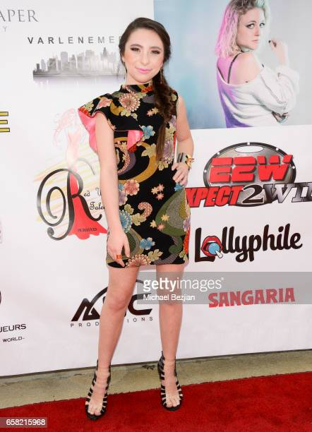 Ava Cantrell arrives at Teen Recording Artist Mahkenna's Sweet 16/Expect2Win Extravaganza at ANC Productions on March 26 2017 in Burbank California