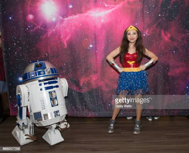 Ava Cantrell at the Ronald McDonald House LA Annual Halloween Carnival at Ronald McDonald House on October 25 2017 in Los Angeles California