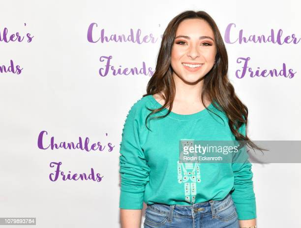 Ava Cantrell attends Chandler Kinney's 3rd Annual Holiday Toy Drive Event on December 09 2018 in Los Angeles California