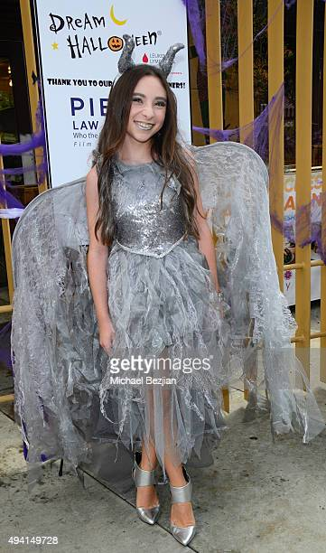 Ava Cantrell attends Dream Halloween 2015 at the Egyptian Theatre on October 17 2015 in Hollywood California